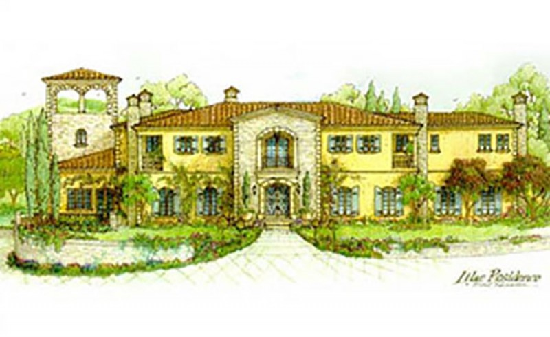 New Tuscan Villa