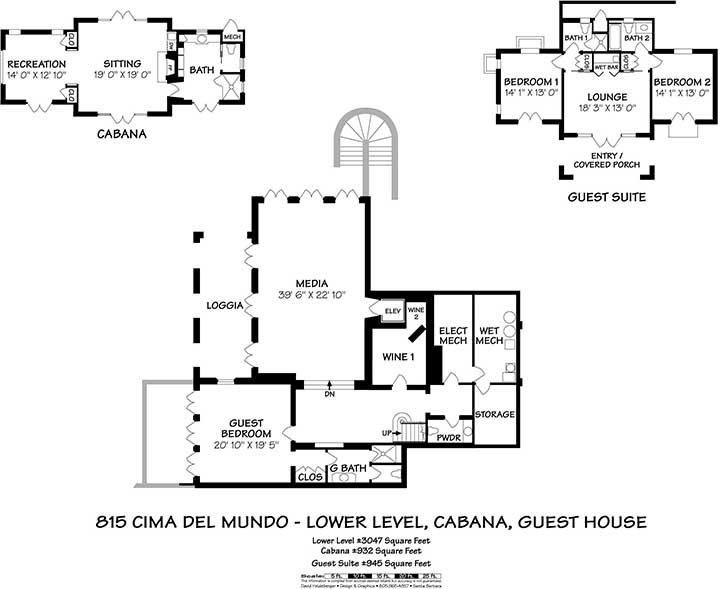 815 Cima del Mundo Floor Plans