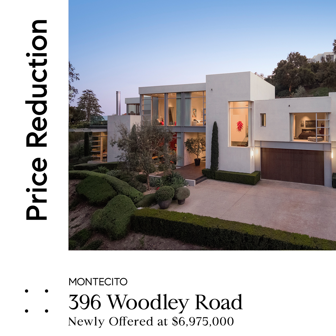 396 Woodley Road, Montecito For Sale